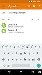 Crosscall Action X3 - E-mail - e-mail versturen - Stap 5