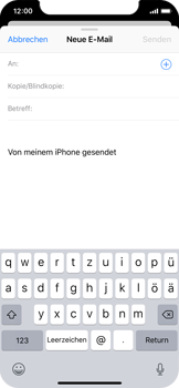 Apple iPhone XS - E-Mail - E-Mail versenden - 4 / 16
