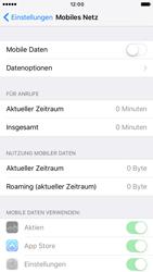 Apple iPhone 6 iOS 10 - Internet und Datenroaming - Prüfen, ob Datenkonnektivität aktiviert ist - Schritt 4