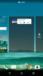 HTC One M9 - Getting started - Installing widgets and applications on your start screen - Step 6