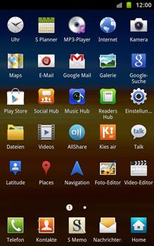 Samsung Galaxy Note - Netzwerk - Netzwerkeinstellungen ändern - 3 / 7