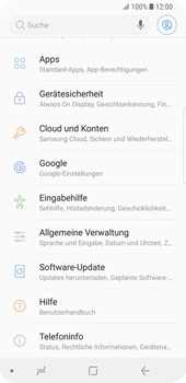 Samsung Galaxy S9 - Software - Installieren von Software-Updates - Schritt 5