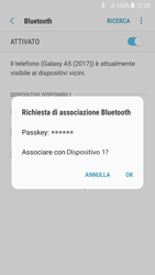 Samsung Galaxy A5 (2017) - Android Nougat - Bluetooth - Collegamento dei dispositivi - Fase 8