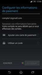 Sony Xperia Z3 - Applications - Configuration de votre store d