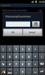 Samsung I9070 Galaxy S Advance - Voicemail - handmatig instellen - Stap 8