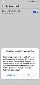 Huawei P20 Lite - Rete - Selezione manuale della rete - Fase 7