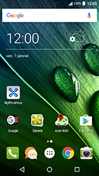 Acer Liquid Zest 4G - Internet - Configuration automatique - Étape 1