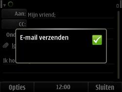 Nokia E6-00 - E-mail - e-mail versturen - Stap 12