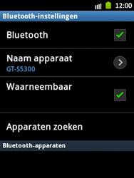 Samsung S5300 Galaxy Pocket - bluetooth - aanzetten - stap 8