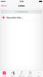 Apple iPhone 5c - Photos, vidéos, musique - Ecouter de la musique - Étape 3