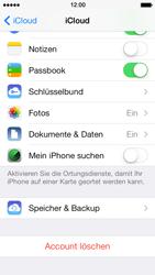 Apple iPhone 5 iOS 7 - Apps - Konfigurieren des Apple iCloud-Dienstes - Schritt 9