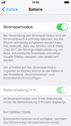 Apple iPhone SE - Gerät - Batterielebensdauer/Energiesparmodus - 5 / 5