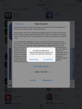 Apple iPad Pro 9.7 inch - Apps - Konto anlegen und einrichten - 21 / 35