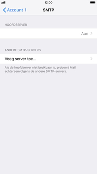 Apple iPhone 6s Plus - iOS 12 - E-mail - handmatig instellen - Stap 17