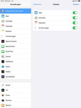 Apple iPad Air (2019) - iPadOS 13 - E-Mail - 032c. Email wizard - Outlook - Schritt 8