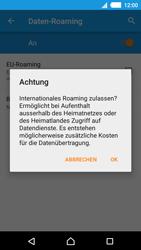 Sony Xperia M4 Aqua - Ausland - Im Ausland surfen – Datenroaming - 10 / 13
