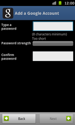 Samsung Galaxy S Advance - Applications - Setting up the application store - Step 9