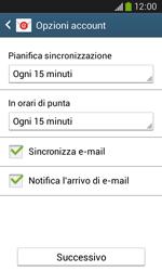 Samsung Galaxy Ace III - E-mail - configurazione manuale - Fase 17