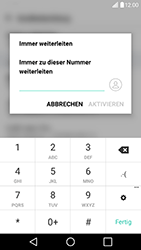 LG G5 SE (H840) - Android Nougat - Anrufe - Rufumleitungen setzen und löschen - Schritt 7