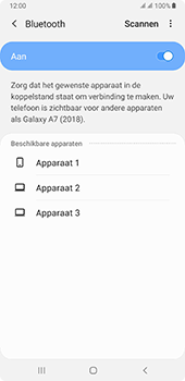 Samsung galaxy-a7-dual-sim-sm-a750fn-android-pie - Bluetooth - Headset, carkit verbinding - Stap 7