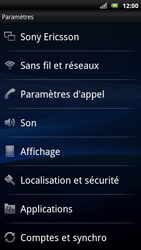 Sony Xperia Neo - Internet - Configuration manuelle - Étape 4