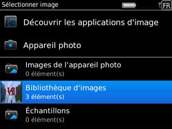 BlackBerry 9780 Bold - MMS - Envoi d
