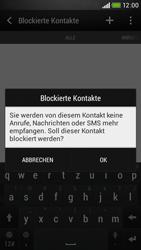 HTC Desire 601 - Anrufe - Anrufe blockieren - Schritt 9