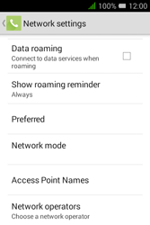 Alcatel Pixi 3 (3.5) - Network - Manual network selection - Step 6