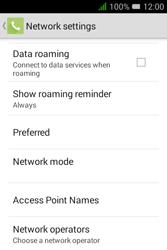 Alcatel Pixi 3 - 3.5 - Network - Usage across the border - Step 6