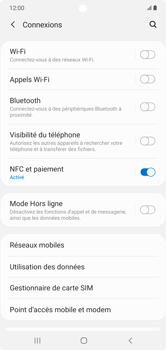 Samsung Galaxy Note 10+ - Internet et connexion - Connexion avec un équipement multimédia via Bluetooth - Étape 6