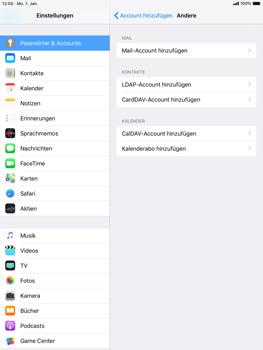 Apple iPad mini 3 - E-Mail - Konto einrichten - 6 / 30
