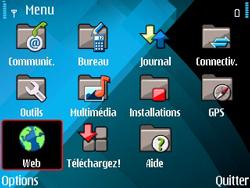 Nokia E71 - Internet - navigation sur Internet - Étape 2