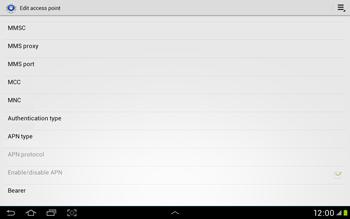 Samsung Galaxy Tab 2 10.1 - MMS - Manual configuration - Step 12