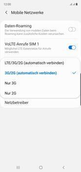 Samsung Galaxy Note 10 - Netzwerk - So aktivieren Sie eine 4G-Verbindung - Schritt 7