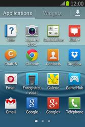 Samsung S6310 Galaxy Young - Messagerie vocale - Configuration manuelle - Étape 3