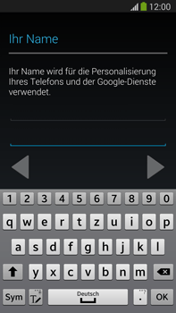 Samsung Galaxy Note III LTE - Apps - Einrichten des App Stores - Schritt 6