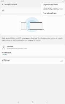 Samsung galaxy-tab-a-10-1-lte-2019-sm-t515 - WiFi - Mobiele hotspot instellen - Stap 8