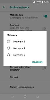 ZTE Blade V9 - Netwerk - Handmatig een netwerk selecteren - Stap 9