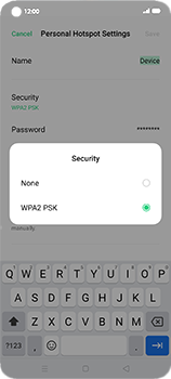 Oppo Find X2 Neo - WiFi - How to enable WiFi hotspot - Step 8