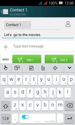 Huawei Y3 - MMS - Sending pictures - Step 9