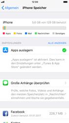 Apple iPhone 8 - Apps - Automatisches Entfernen nicht genutzter Apps aktivieren - 6 / 6