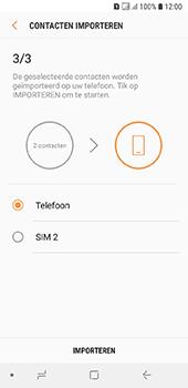 Samsung galaxy-a6-sm-a600fn-ds - Contacten en data - Contacten kopiëren van SIM naar toestel - Stap 12