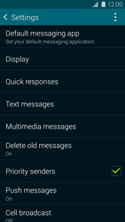 Samsung G800F Galaxy S5 Mini - SMS - Manual configuration - Step 6