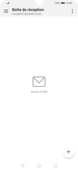 Huawei P Smart 2020 - E-mails - Ajouter ou modifier votre compte Yahoo - Étape 8