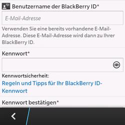 BlackBerry Q10 - Apps - Einrichten des App Stores - Schritt 10