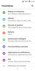 Alcatel 1X - Internet et connexion - Désactiver la connexion Internet - Étape 4