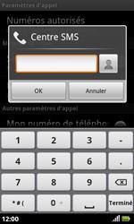 Acer Liquid S100 - SMS - configuration manuelle - Étape 7