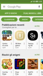 Samsung Galaxy S6 - Android Nougat - Applicazioni - Come verificare la disponibilità di aggiornamenti per l