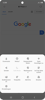 Samsung Galaxy A51 - Internet und Datenroaming - Verwenden des Internets - Schritt 21