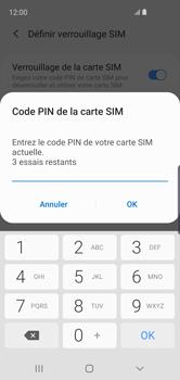 Samsung Galaxy S10e - Sécuriser votre mobile - Personnaliser le code PIN de votre carte SIM - Étape 8
